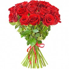 Букет из 25 красных роз